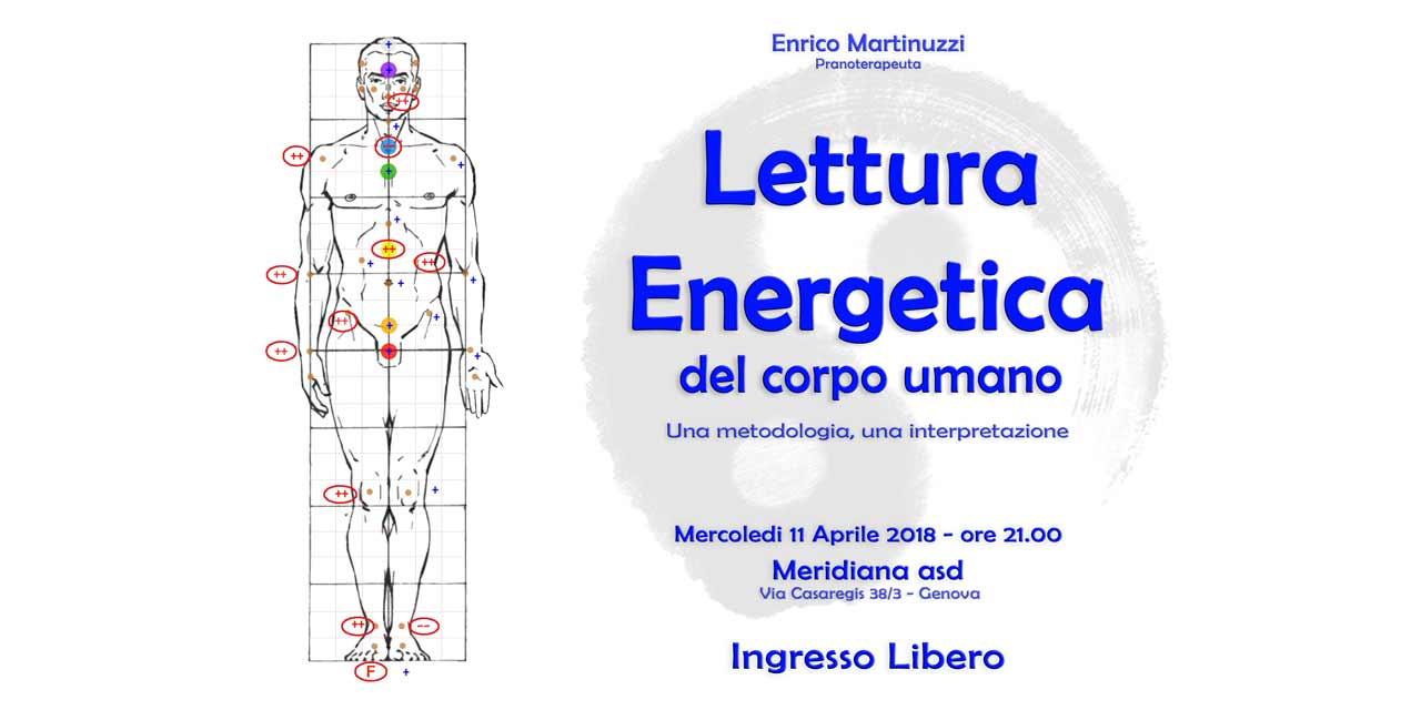 Lettura Energetica del Corpo Umano