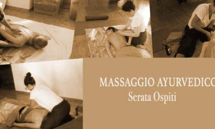 Massaggio ayurvedico: serata ospiti