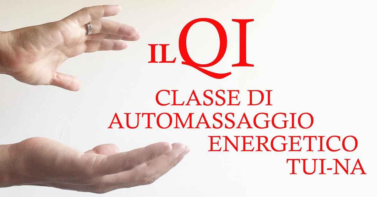 Classe di Automassaggio Energetico Tui-Na